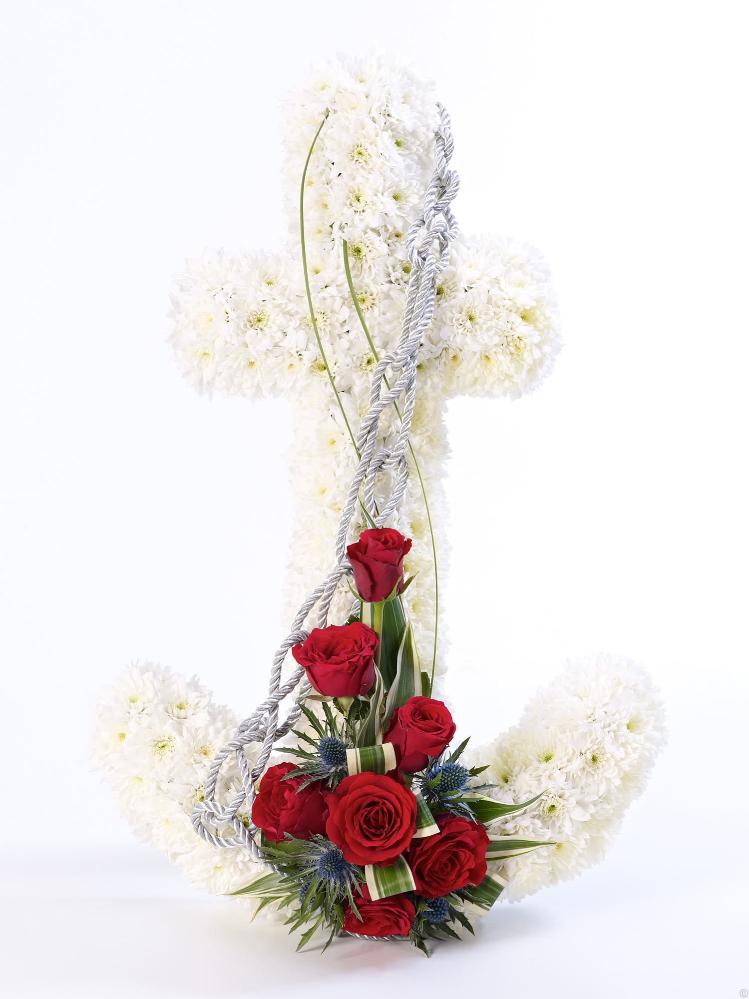 Special tributes mimosaflowers for cork funeral flowers anchor tribute izmirmasajfo