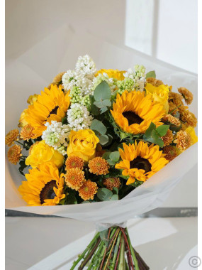 Summer Sunshine Hand-tied