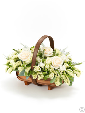 Mixed Basket - Cream & White